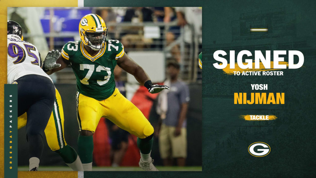 Packers sign T Yosh Nijman to active roster from...