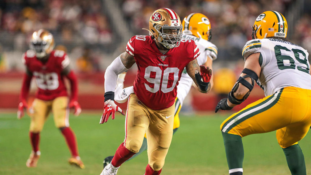Damontre Moore to IR, Dee Ford, Joe Staley with...