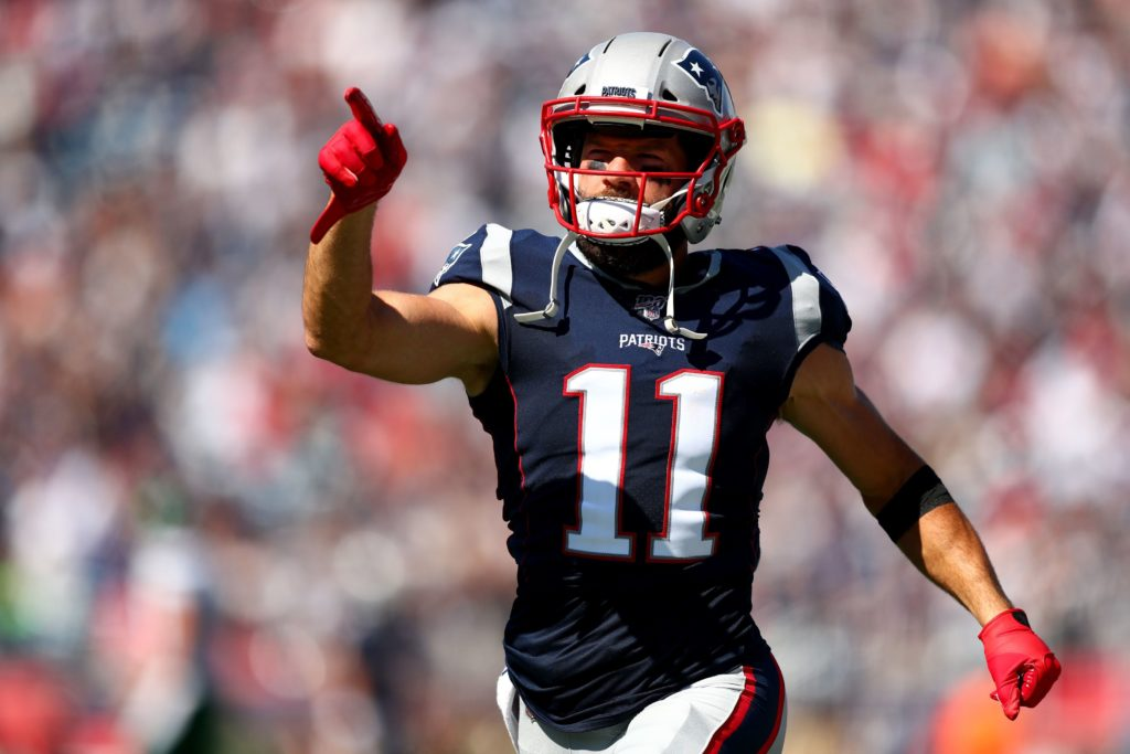 Some reports suggest Julian Edelman moving better...