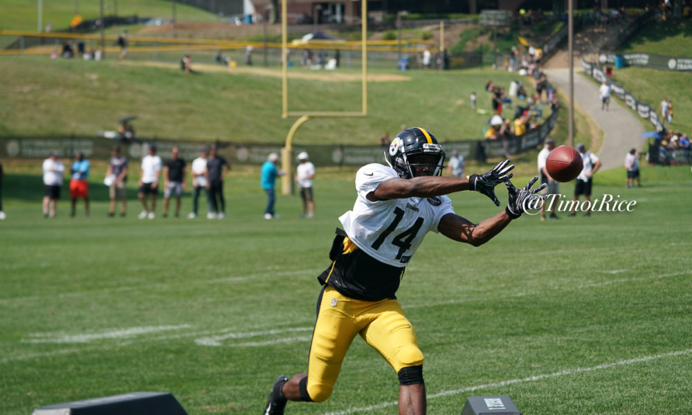 Steelers Release WR Tevin Jones, Promote WR Amara...