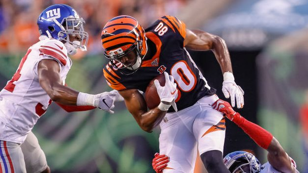 Jets promote wide receiver Josh Malone from...