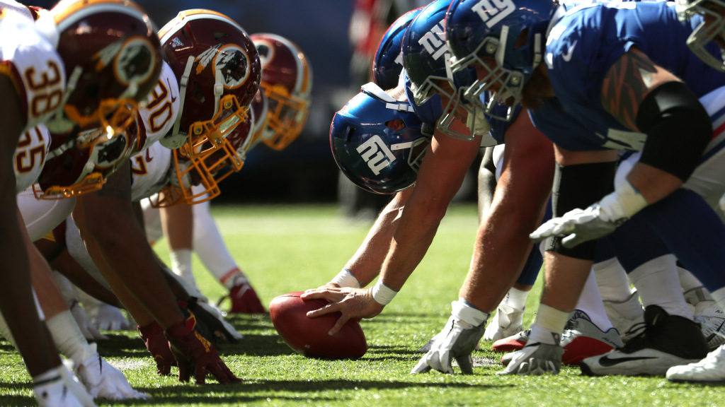 New York Giants open as 2.5-point underdogs vs....