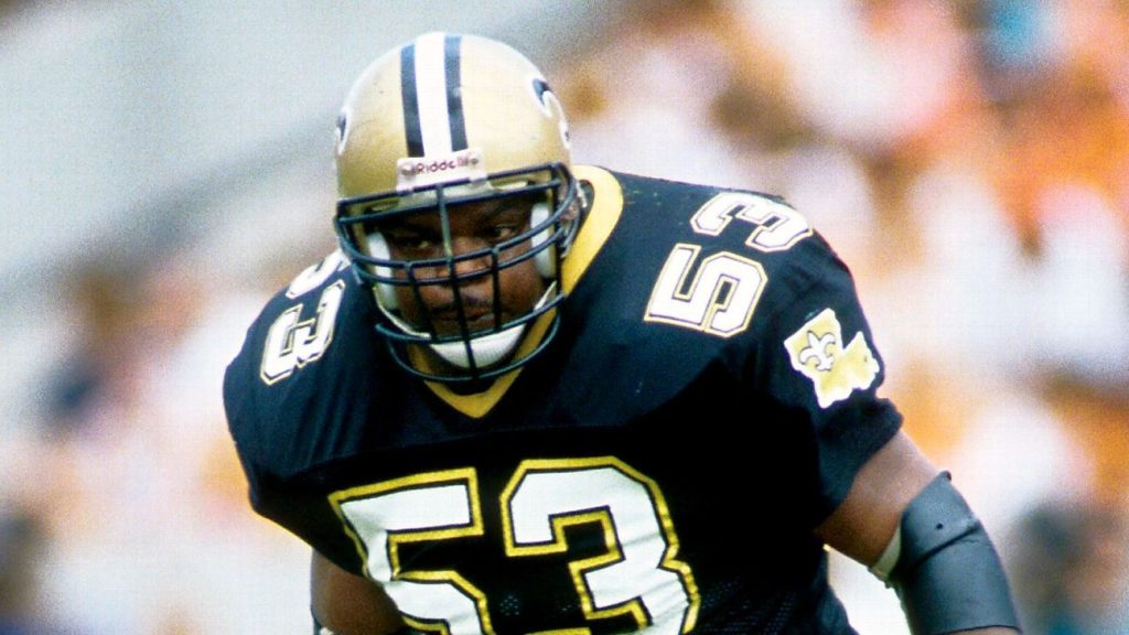 Vaughan Johnson, former Saints Pro Bowl...