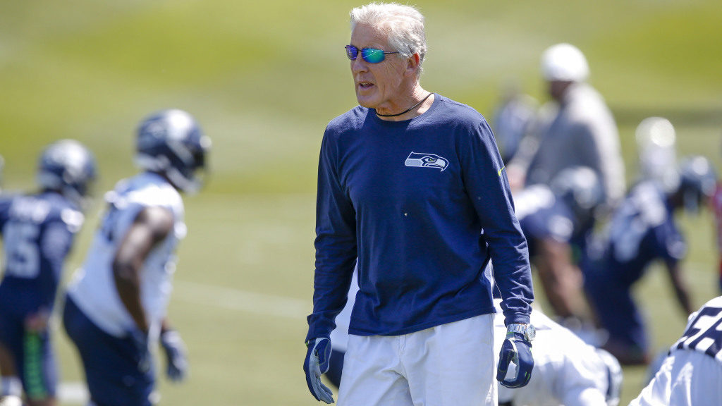 Pete Carroll says their practice squad players are...
