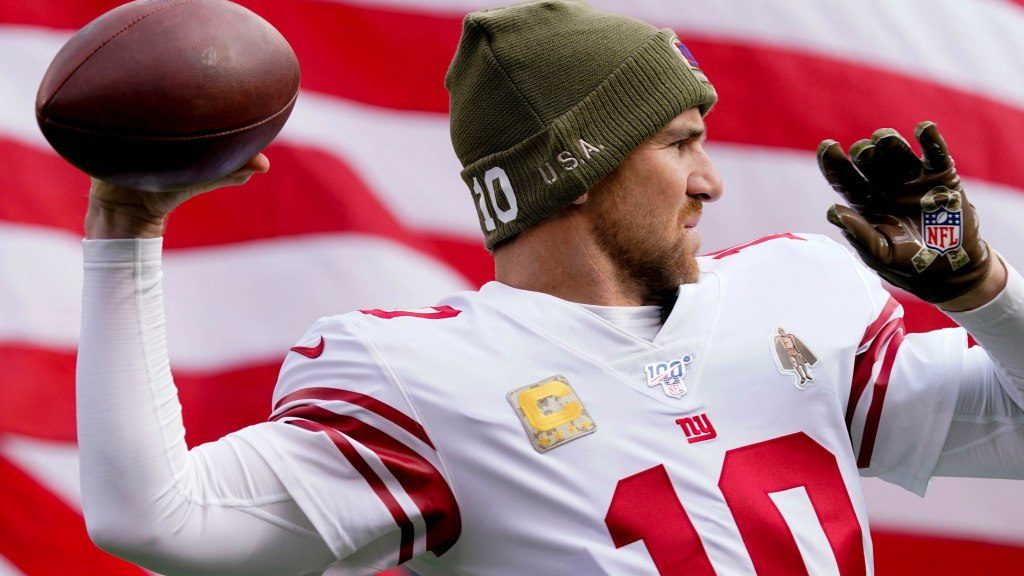 Eli Manning ready if needed vs. Eagles