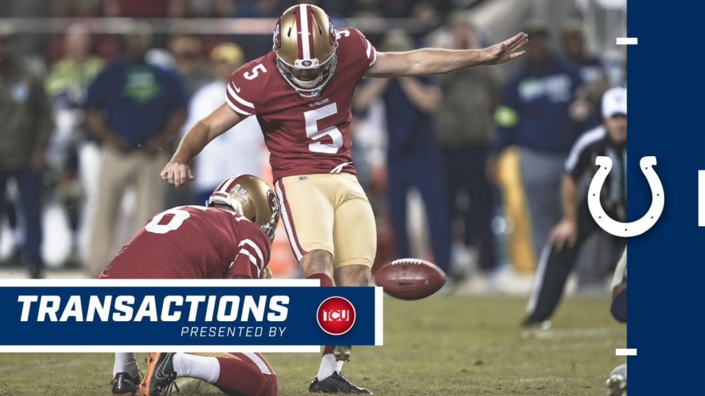 Colts Claim Kicker Chase McLaughlin Off Waivers