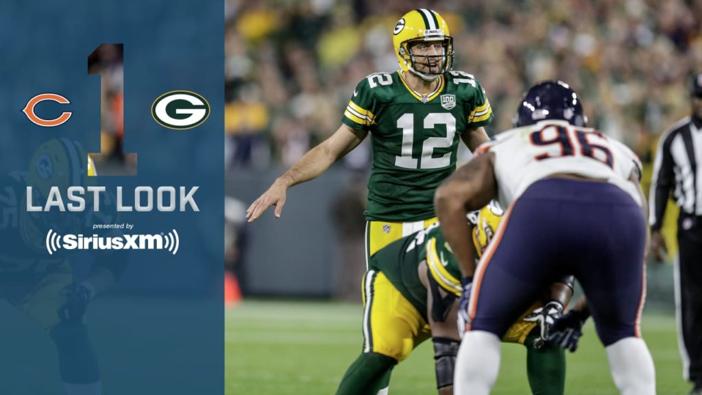 Been a while since Packers-Bears at Lambeau meant...