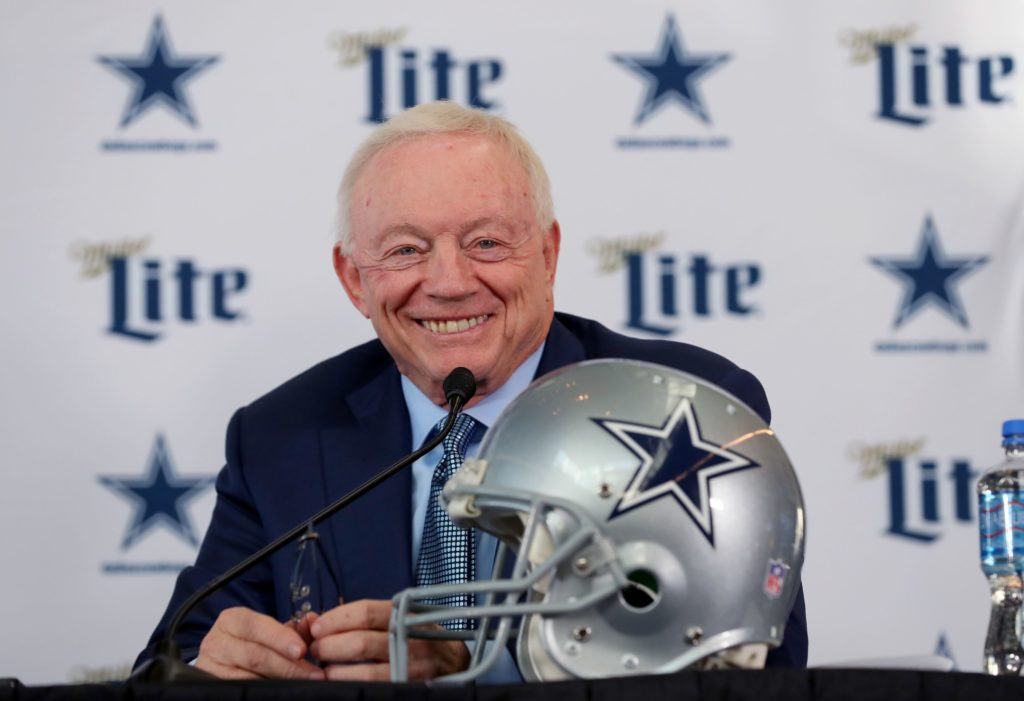 The Jerry Jones effect may finally be positive...