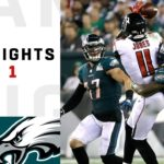 Falcons vs. Eagles Week 1 Highlights | NFL...
