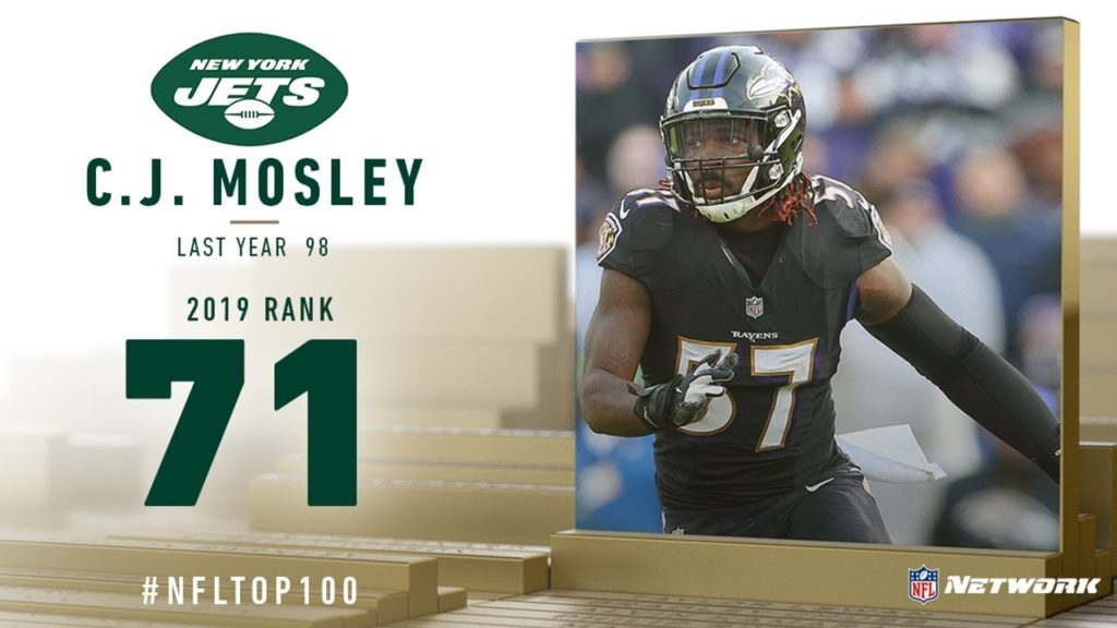 #71: C.J. Mosley (ILB, Jets) | Top 100 Players...