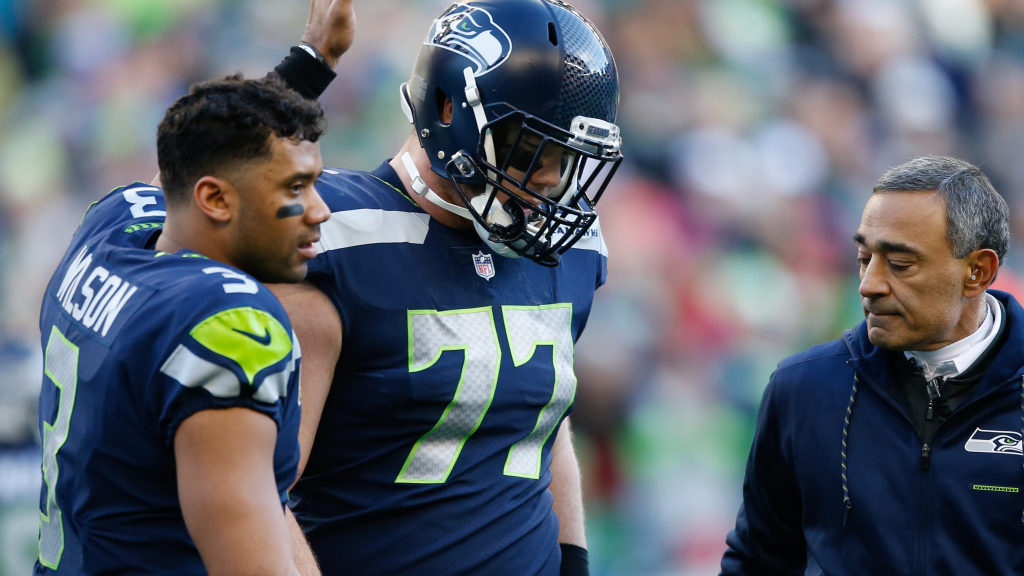 Seattle Seahawks place guard Ethan Pocic on...