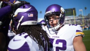 Vikings Sweep Safety Spots on PFWA's All-NFC Team