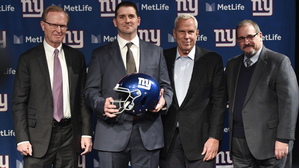 Giants' Dave Gettleman maintains emphasis on...