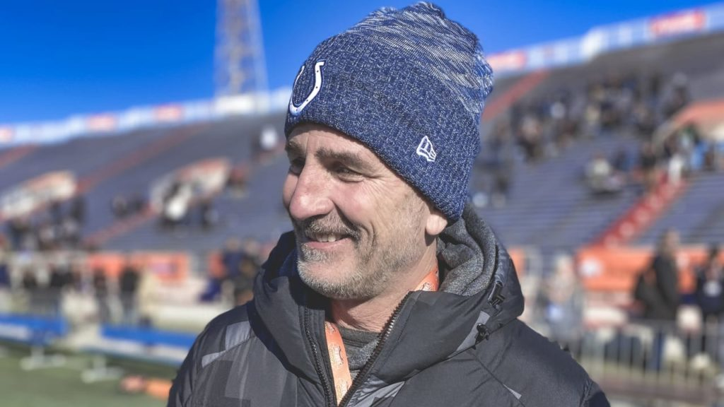 Indianapolis Colts head coach Frank Reich talks...