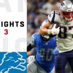 Patriots vs. Lions Week 3 Highlights | NFL...