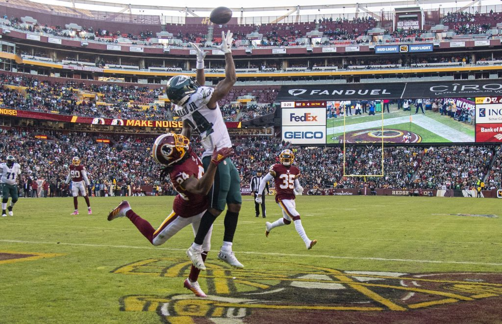 Video: Eagles Top Redskins 37-27 in NFC East...