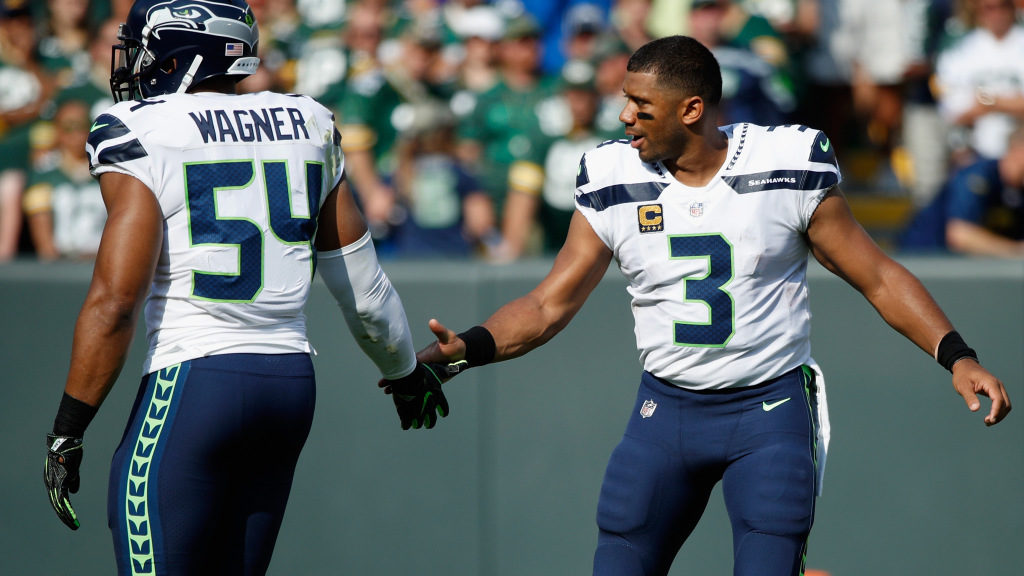 Russell Wilson's and Bobby Wagner's 2020 salaries...