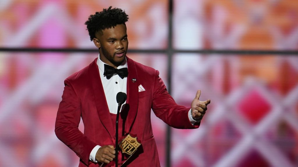 Kyler Murray Named NFL Offensive Rookie Of Year