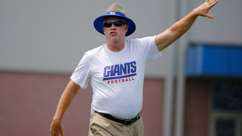 Ex-Giant Brandon Jacobs expects Kevin Gilbride to...
