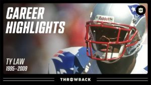 "Ty Law's ""Big Game Performer""..."