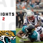 Patriots vs. Jaguars Week 2 Highlights | NFL 2...