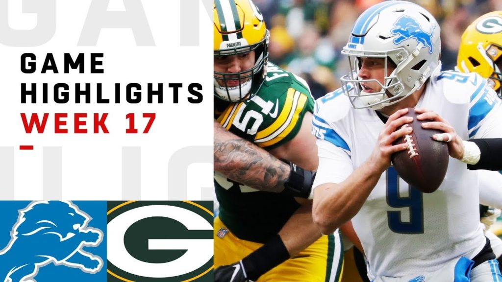 Lions vs. Packers Week 17 Highlights | NFL...