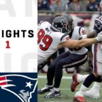 Texans vs. Patriots Week 1 Highlights | NFL...