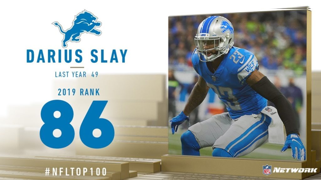 #86: Darius Slay (CB, Lions) | Top 100 Players...