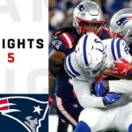 Colts vs. Patriots Week 5 Highlights | NFL...