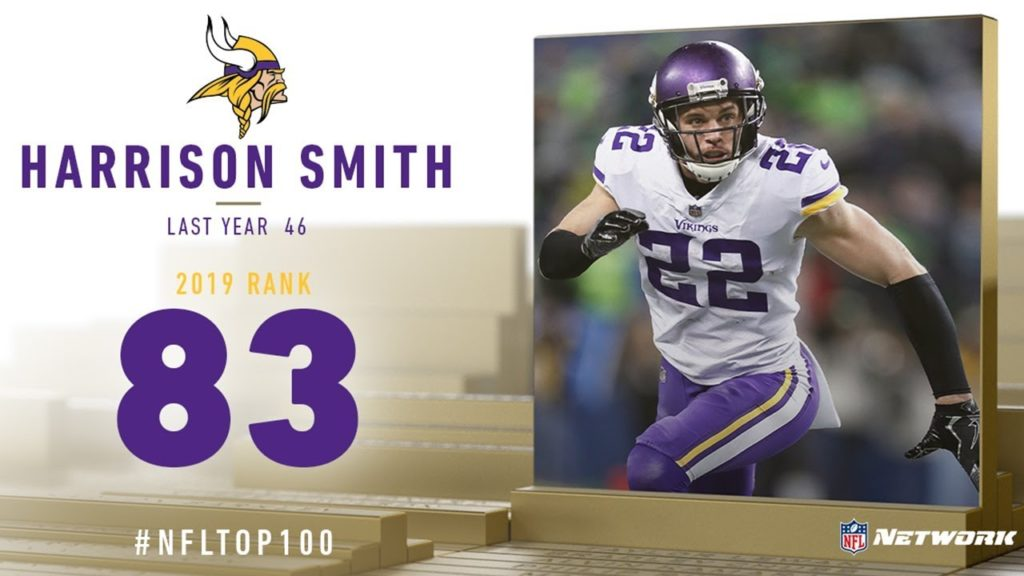 #83: Harrison Smith (S, Vikings) | Top 100...