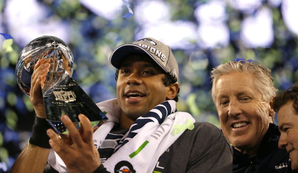 Seattle Seahawks all-time Mount Rushmore