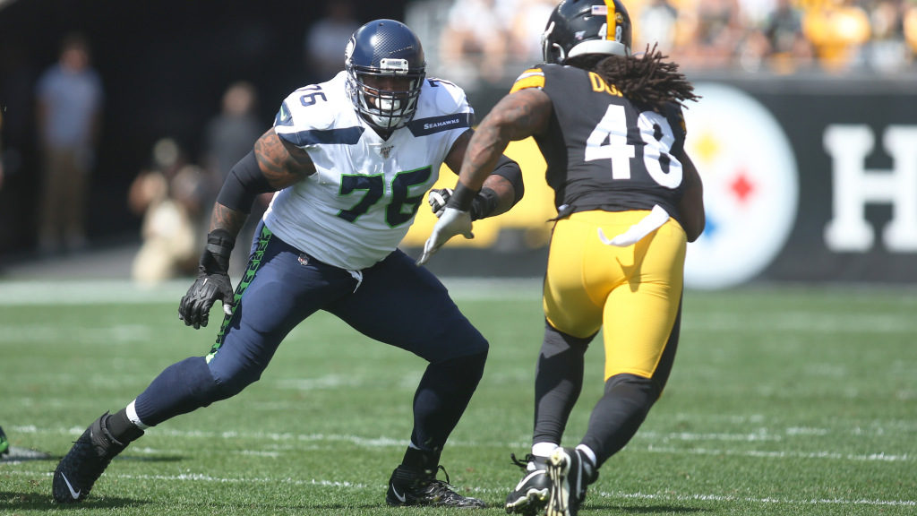 Pro Football Focus selects Duane Brown as...