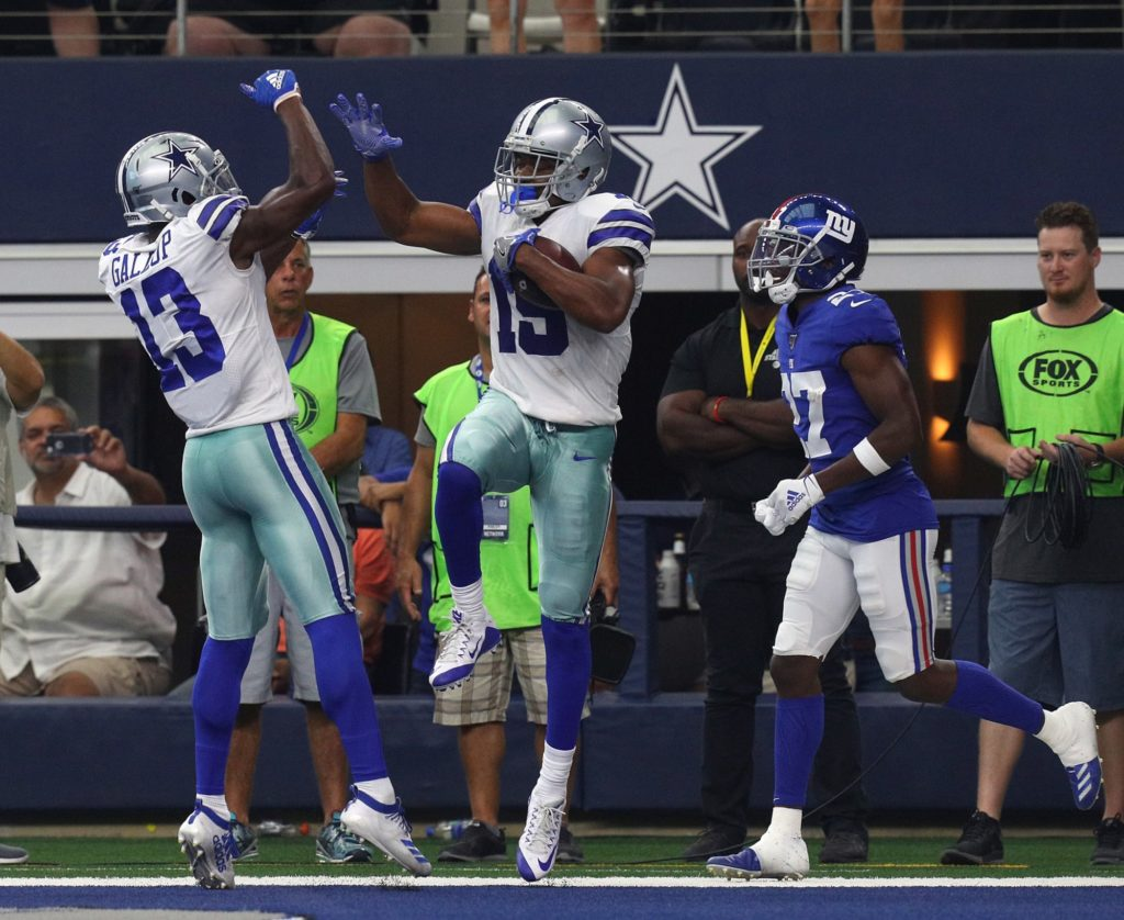 Dallas Cowboys may have the best receiving group...