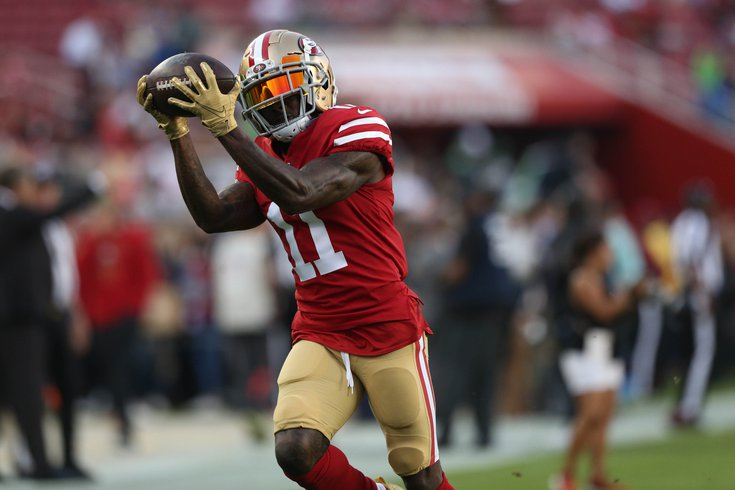 Eagles Acquire WR Marquise Goodwin in Deal with...