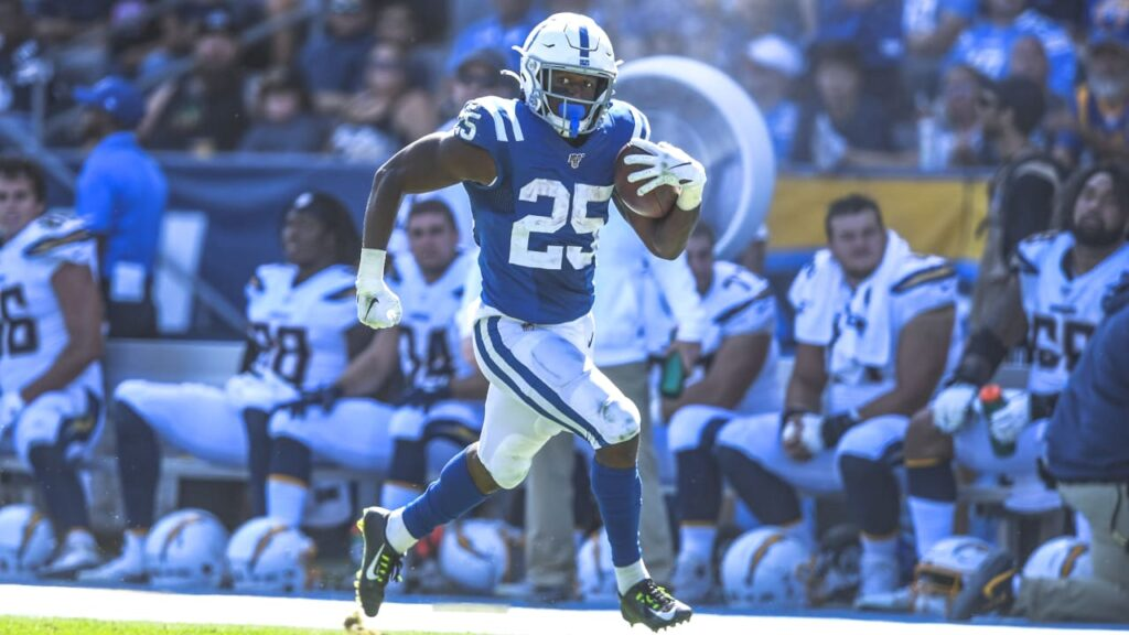 Indianapolis Colts RB Marlon Mack was one of the...