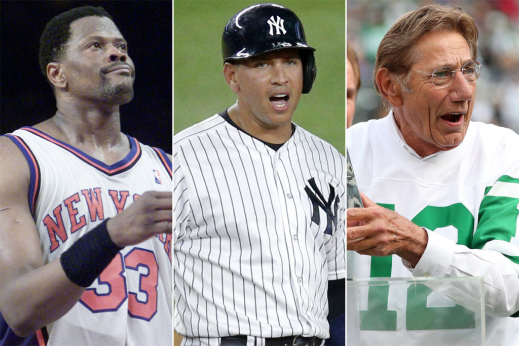 The best New York athletes to wear every number