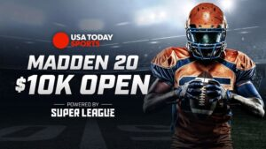 The USA Today Sports Madden 20 $10K Open Powered...