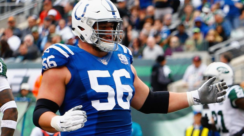 Quenton Nelson not afraid to yell at his boss