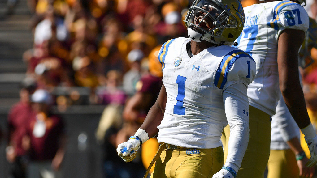 Darnay Holmes named Pac-12 Tom Hansen Conference...