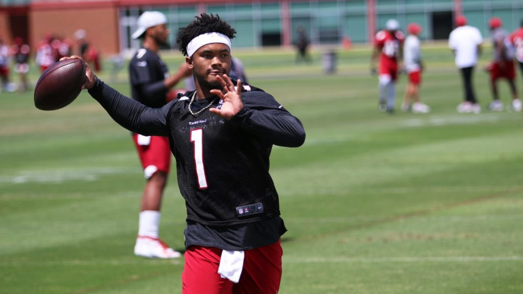 Kyler Murray To Throw To Teammates Soon, But...