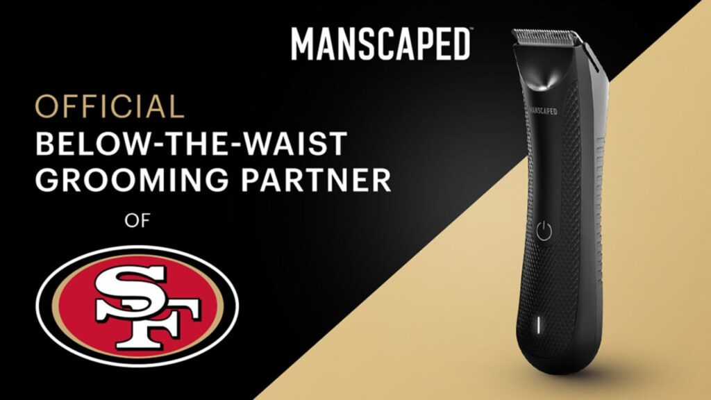 San Francisco 49ers and Manscaped Announce...