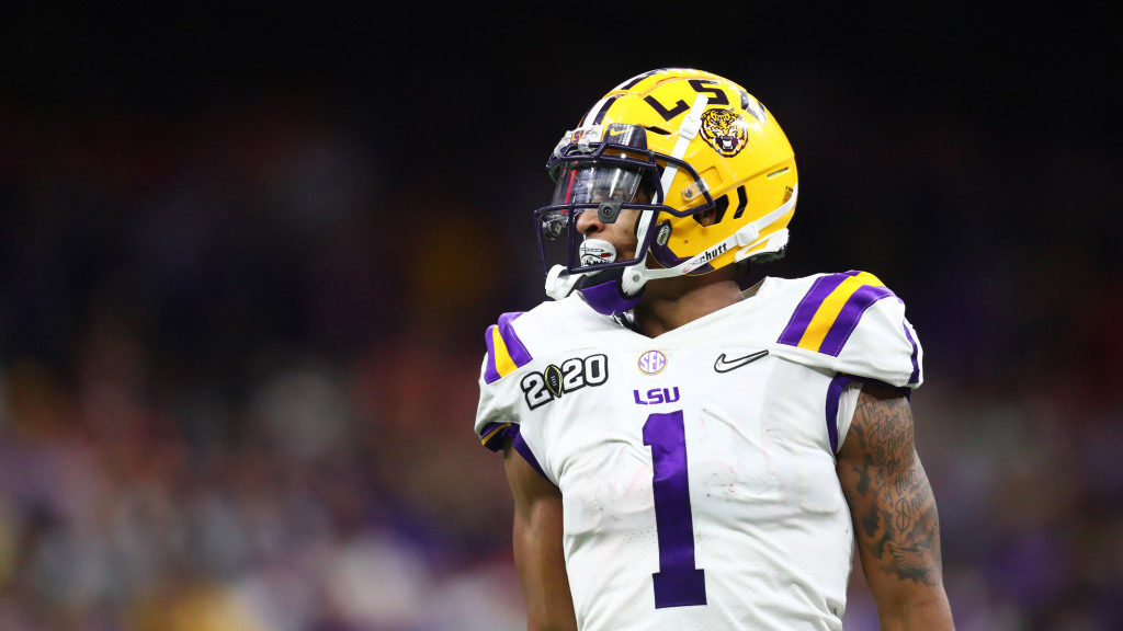 New York Giants select WR Ja'Marr Chase in Draft...
