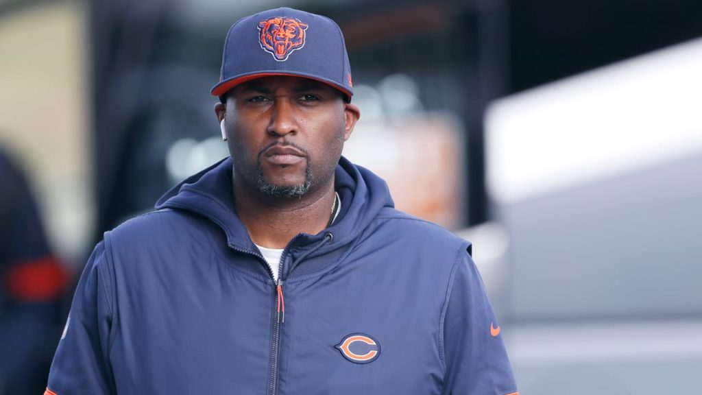 Chicago Bears director of player engagement LaMar...