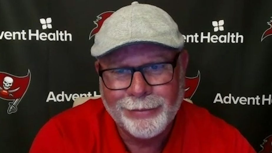 """Bruce Arians plans to """"be careful,"""" but isn't..."""
