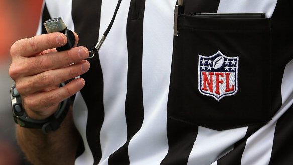 NFL referees plan to wear masks on the field