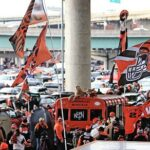 Bengals tell season ticket holders no tailgating...