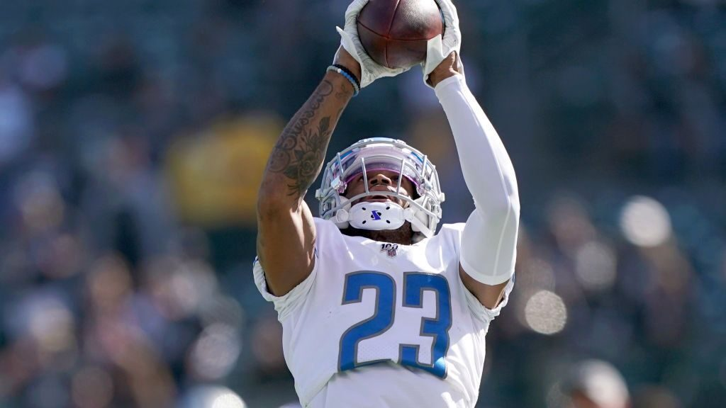 Darius Slay lands outside the top-5 in a ranking...
