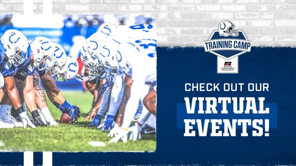 Colts Training Camp Schedule July 28-August 1