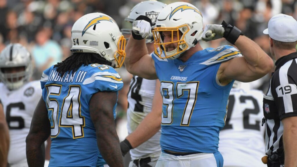 Chargers make bold statement by signing Joey Bosa...