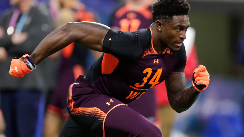 Seahawks' DK Metcalf reacts to Madden NFL 21...